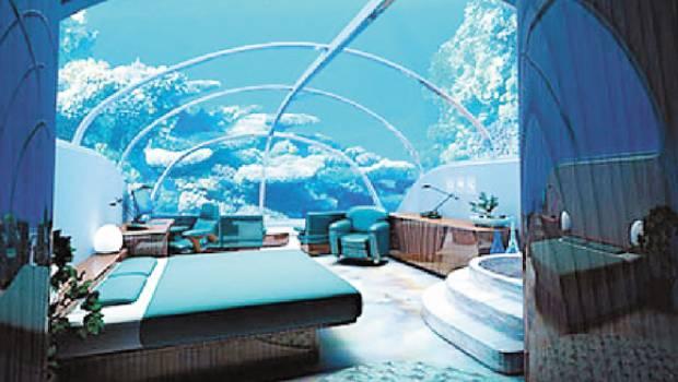 Mundo subacu tico un sue o de ciencia ficci n hecho realidad for Hoteles mas lujosos del mundo bajo el mar