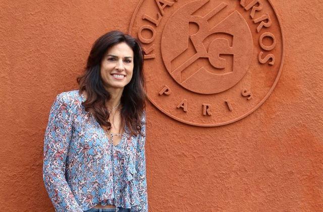 Gabriela Sabatini: reina en París