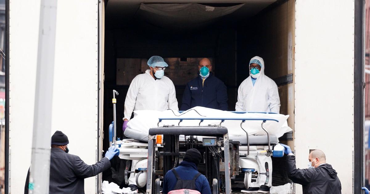 En EE.UU. el coronavirus causó más muertes que tres guerras